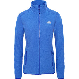 The North Face 100 Glacier Full Zip Jacket Women lapis blue stripe